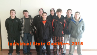 Ind State Qualifiers send off 02.26.2015