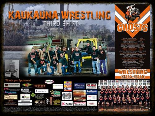 Kaukauna Wrestling Third Shift