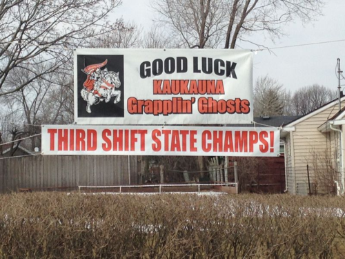 3rd Shift State Champs Good Luck